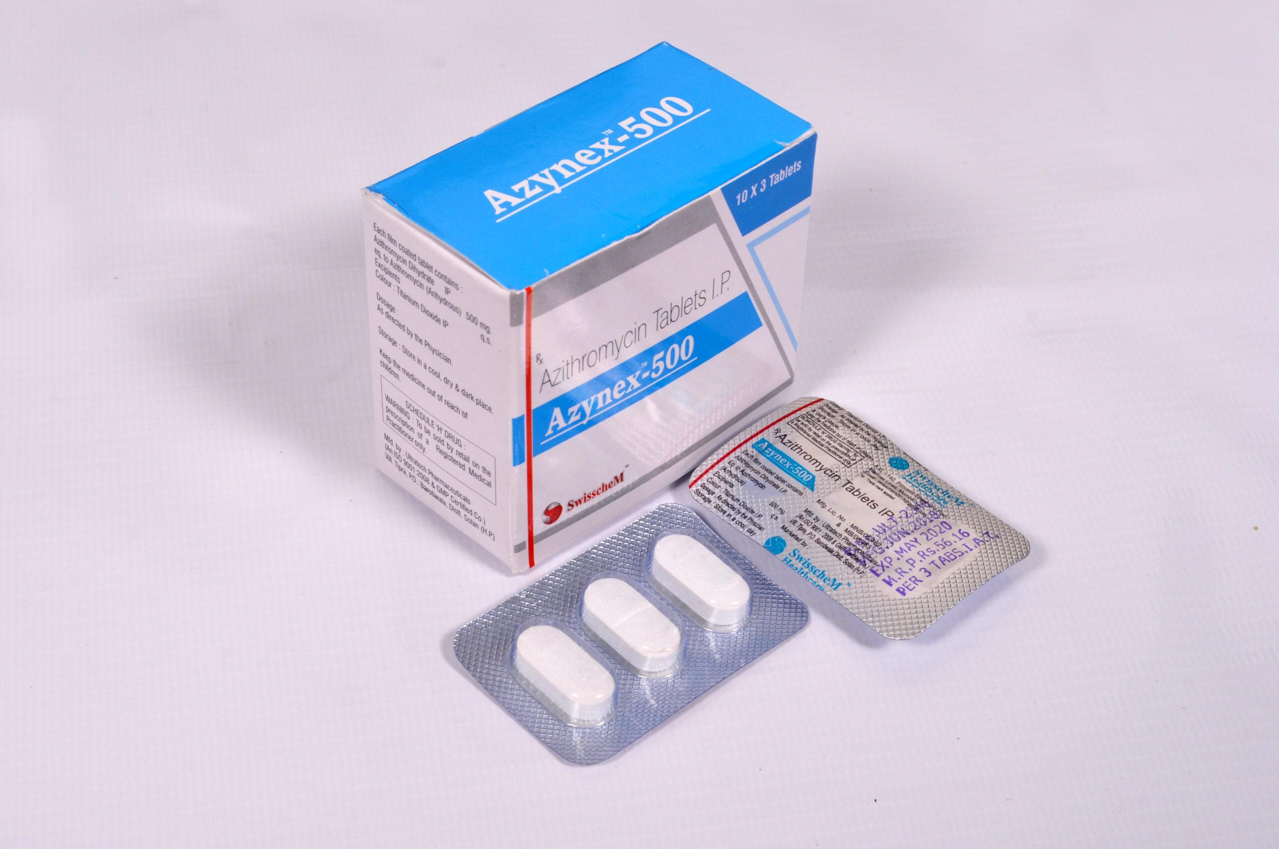Azythromicin tablets IP