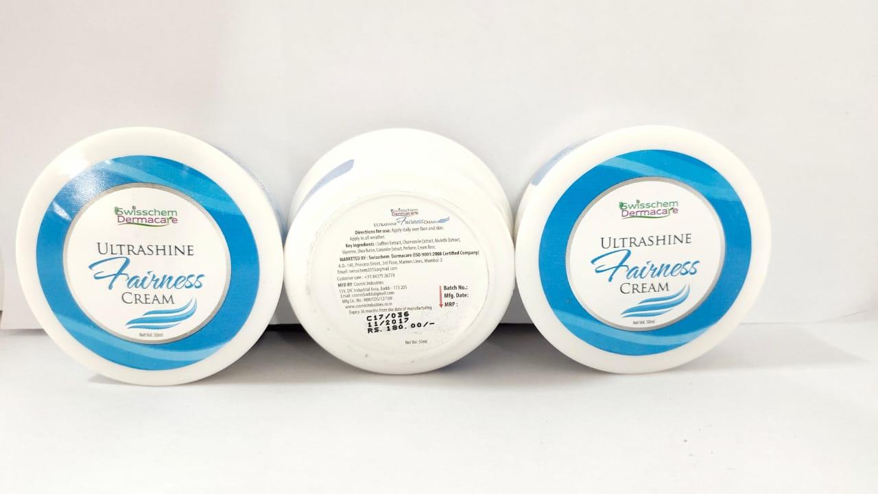 Ultrashine fairness cream